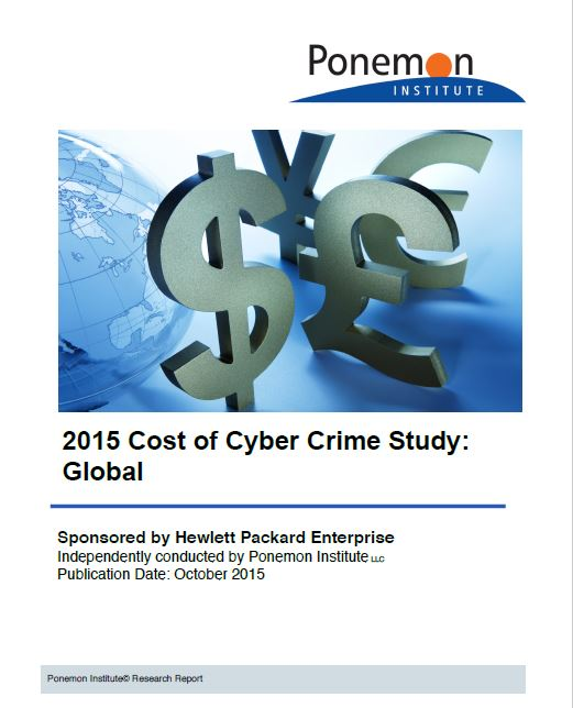 Estudio coste cibercrimen