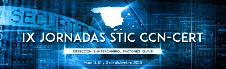 IX Jornadas STIC CCN-CERT