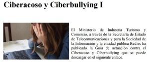 Ciberacoso y ciberbulling I