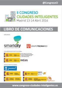 Portada Libro II Congreso Ciudades Inteligentes